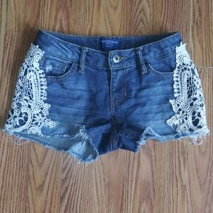 Arizona Girl Denim Shorts size 7/8